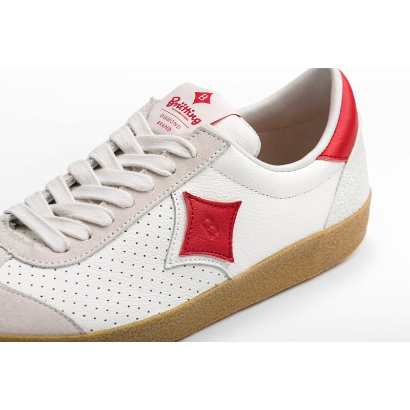 MELBOURNE WHT / RED / NAT